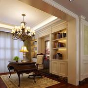 简欧风格别墅书房设计