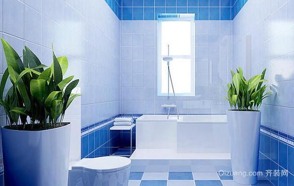 大型地中海风格别墅卫生间装修效果图
