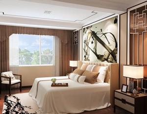 30平米大户型新古典风格卧室装修展示图