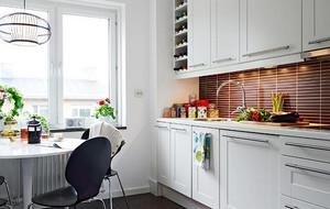 80平米精致小户型简约风格厨房装修效果图