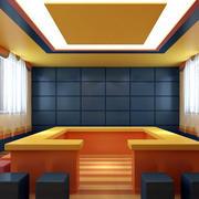 小学教室小型会议室装饰