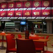快餐店简易吧台装饰