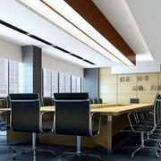 现代简约风格会议室灯饰装饰