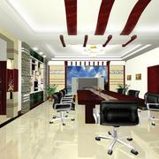 会议室简约风格瓷砖装饰