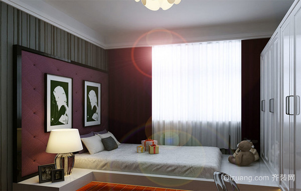 2016经典的大户型日式风格榻榻米卧室装修效果图