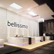 现代大型高级卫浴专卖店铺设计效果图