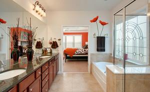 前卫美观主卧室卫生间装修设计效果图