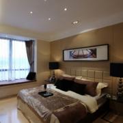 2016大户型经典的欧式卧室背景墙效果图鉴赏