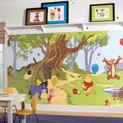 现代简约风格清新幼儿园教室主题墙装饰