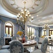 法式客厅背景墙装饰