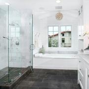 小户型北欧清新风格卫生间瓷砖装修效果图