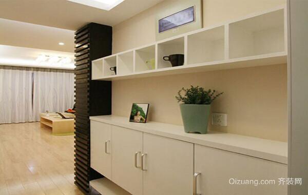 100平米大户型精美的欧式客厅鞋柜装修效果图