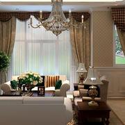 欧式客厅飘窗装饰