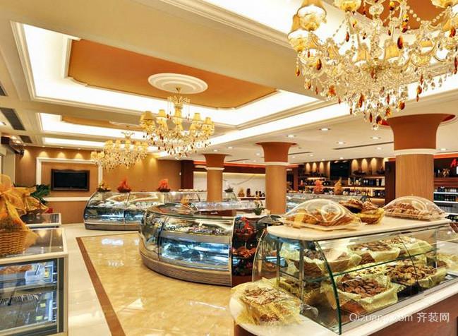 70平米欧式奢华风格休闲食品店装修效果图