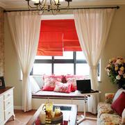 韩式客厅飘窗装饰