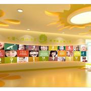 大型幼儿园教室圆形吊顶装修效果图