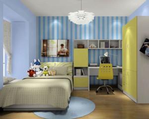 精美舒适的小户型欧式儿童卧室装修效果图