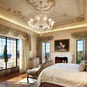 大型别墅奢华风格吊顶装饰