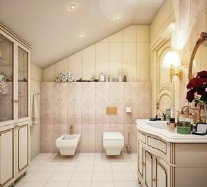 欧式奢华风格卫生间马可波罗瓷砖装修图