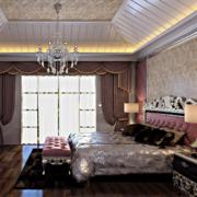 2016精致的欧式单身公寓卧室装修效果图实例