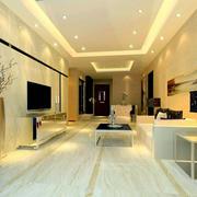 简约一居室公寓客厅东鹏瓷砖贴图