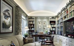 书房整体橱柜装饰
