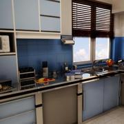 唯美的厨房造型图