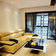 小户型后现代风格客厅沙发装饰