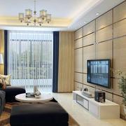 后现代风格客厅电视背景墙