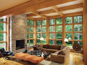 美式现代别墅阳光房装修设计效果图