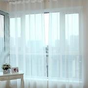 韩式清新白色系飘窗装饰