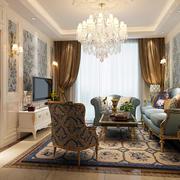 法式客厅简约飘窗装饰