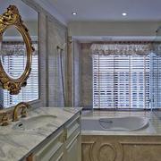 法式精致风格卫生间浴缸装饰