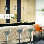 120平米大户型欧式精致的室内吧台装修效果图