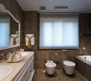 宜家风格双人卫生间装修设计效果图