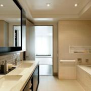 2016都市完美的现代欧式浴室装修效果图鉴赏