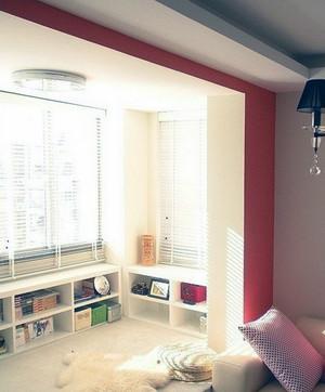 2016优美的欧式别墅型阳台榻榻米装修效果图