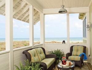 海景房欧式简约风格阳台装修效果图