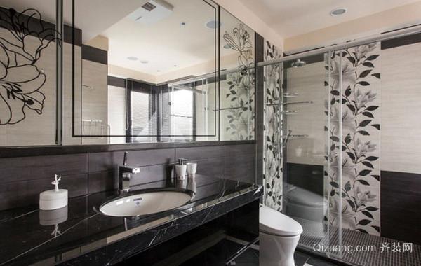 大型别墅法式风格卫生间装修效果图