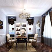 大型奢华风格书房装饰