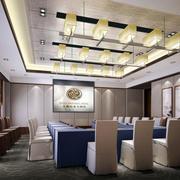 五星级酒店会议室吊灯设计效果图