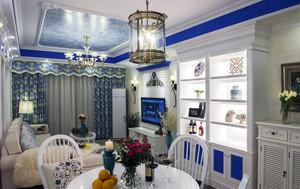 地中海风格小户型客厅装修设计实例