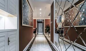 精致现代小户型玄关镜装修设计实例