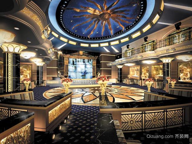 180平米大型欧式奢华歌舞厅装修效果图