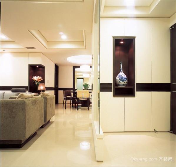 120平米大户型欧式客厅鞋柜装修效果图