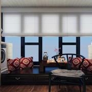 现代室内窗帘造型图