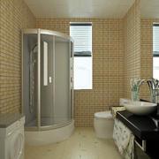 四合院卫生间瓷砖装饰