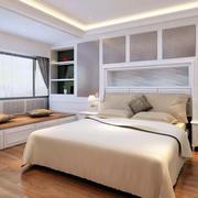 公寓整体式床头柜装饰