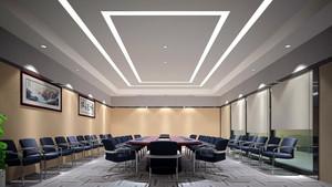 现代时尚公司会议室设计效果图