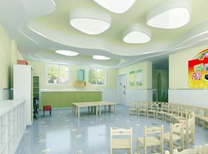 大型欧式风格精致幼儿园教室装修效果图